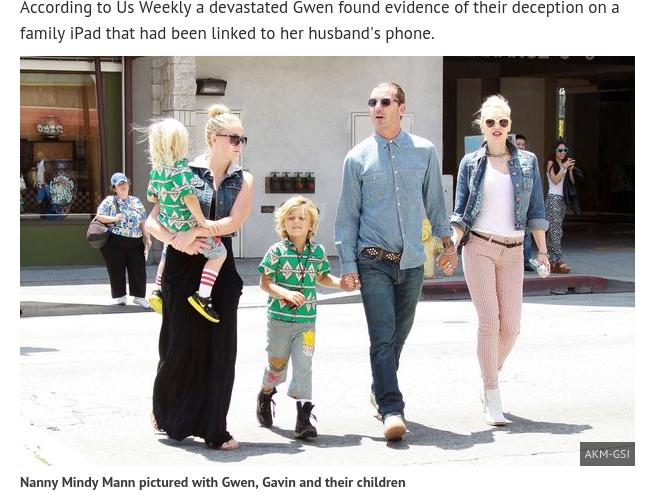 Gwen, Gavin y Mandy   Mirror