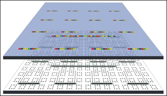Gráficos y algoritmos han ayudado a los investigadores a visualizar los resultados. / T.S.Cubitt, D.Perez-Garcia, M.M.Wolf/Nature