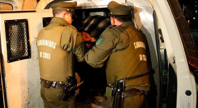Resultado de imagen para carabineros detencion
