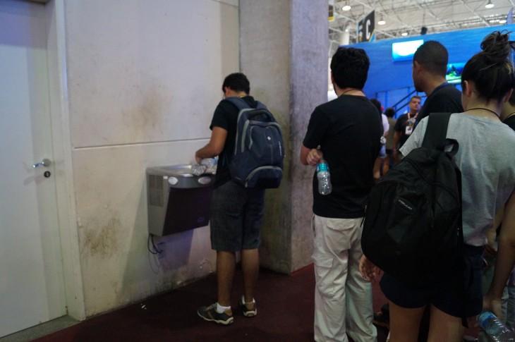 La zona para recargar agua | Eduardo Woo / BBCL