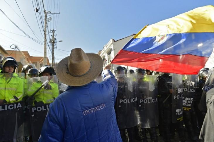Protestas | Rodrigo Buendía | Agencia AFP