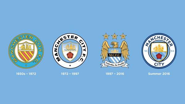 Escudos Manchester City | Sitio oficial del CLub