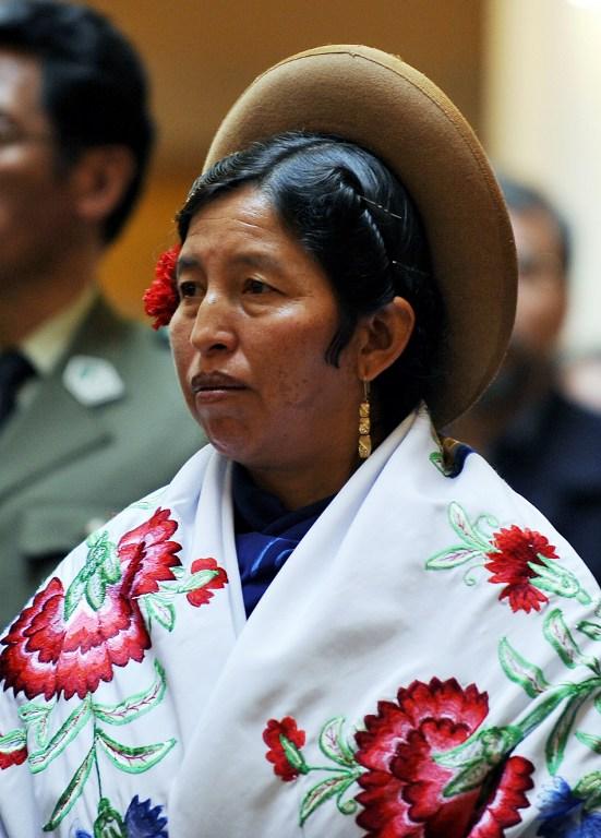Ex ministra Julia Ramos   Agencia AFP