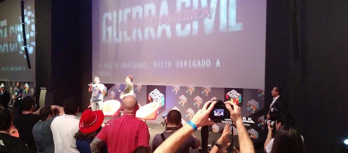Anthony Russo en la Comic Con Experience 2015