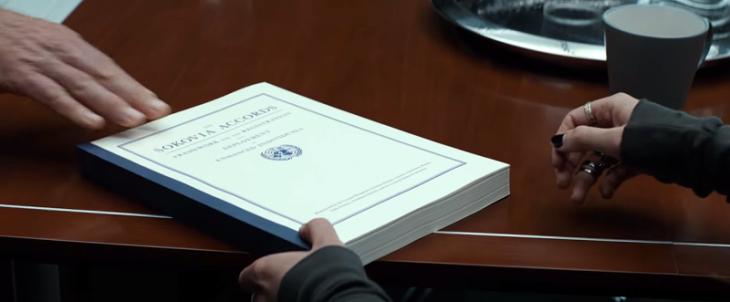 Los acuerdos de Sokovia | Marvel