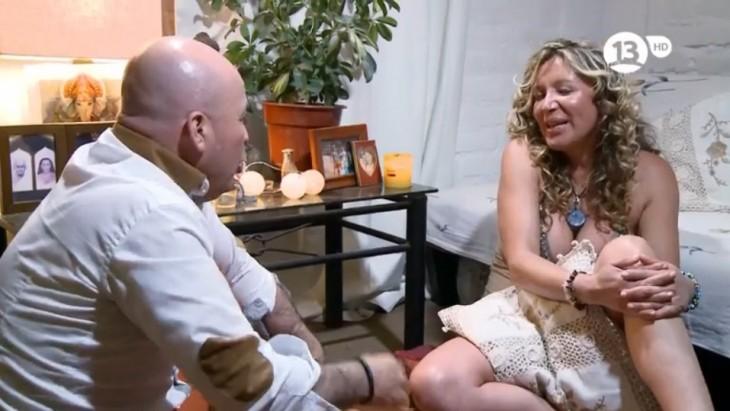 Eddison e Isis en Solteros en Busca del Amor |  Canal 13