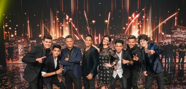 Los ganadores junto a sus jueces | Univisión