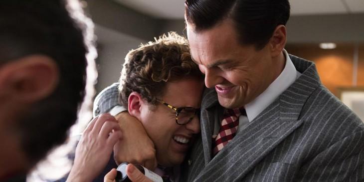 Leonardo Di Caprio y Jonah Hill | El lobo de Wall Street