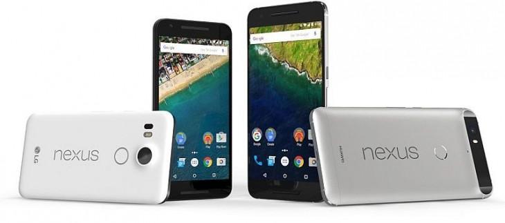 Los nuevos modelos de Google, el Nexus 5x y el Nexus 6p | Google