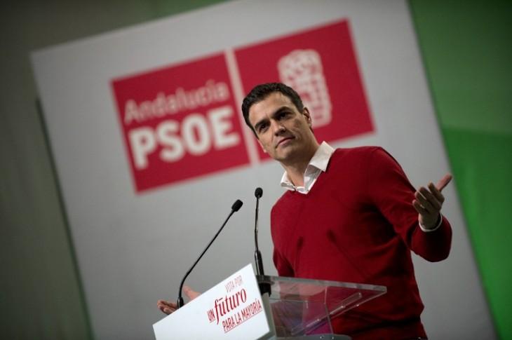 Pedro Sánchez | Candidato PSOE | Agencia AFP