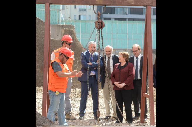 Instalación primera piedra segunda etapa GAM | Prensa Presidencia