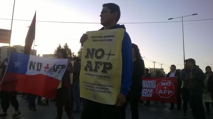 Protesta en Alameda con Las Rejas | Christian Borcoski (RBB)