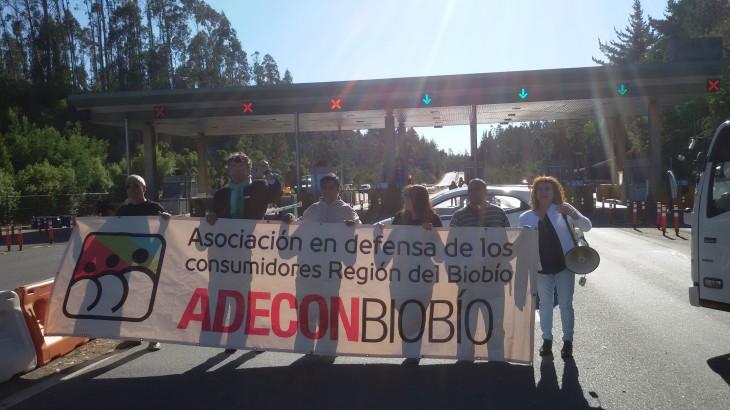 Protesta en Peaje Agua Amarilla | Prensa Senador Navarro