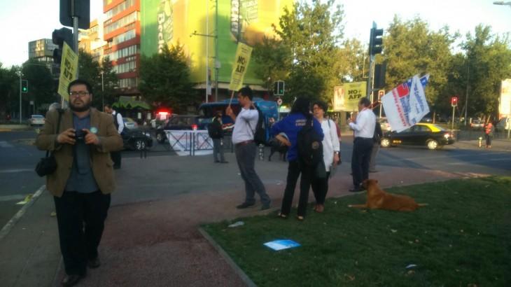 Protesta en Plaza Italia | Rodrigo Pino (RBB)