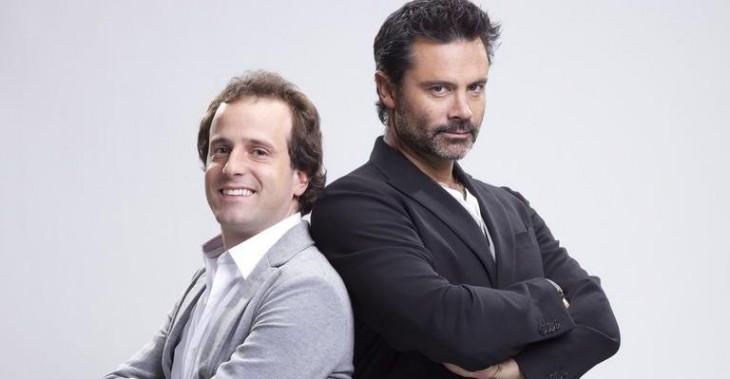 Foto promocional de Kramer y Camiroaga | TVN