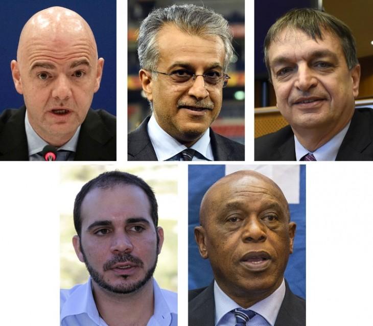 Candidatos a la FIFA