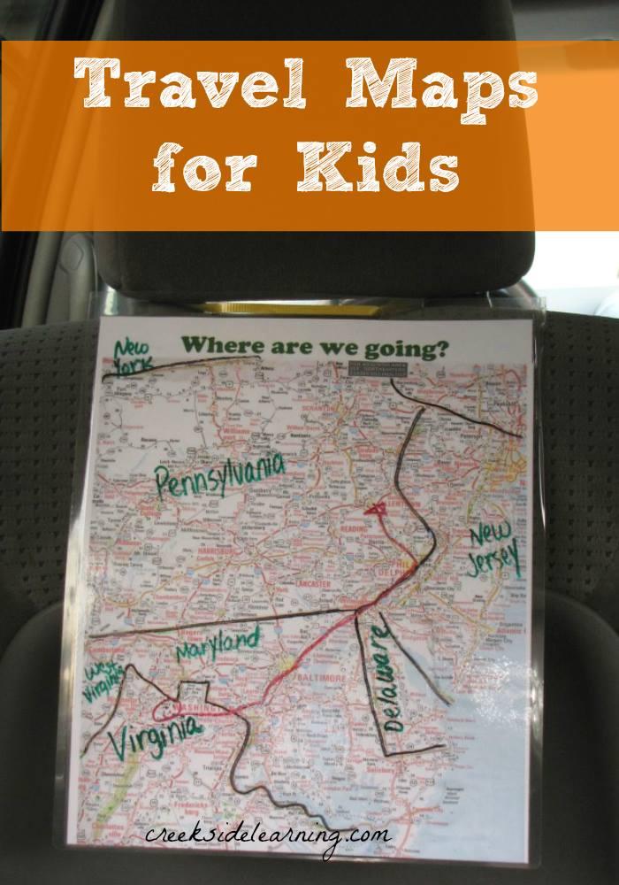 Mapa del viaje de Creeksidelearning.com