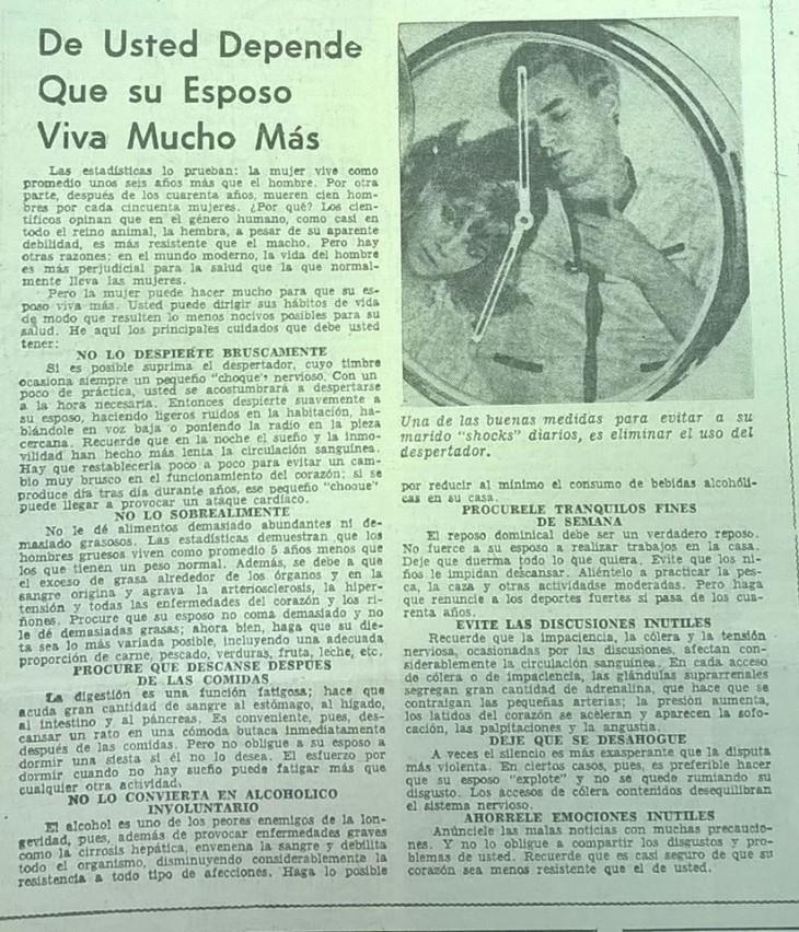Diario El Sur de Concepción | 9 de febrero de 1972