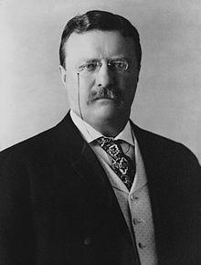 Theodore Roosevelt como presidente de EEUU en 1904 / Wikimedia
