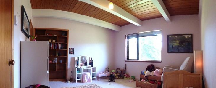 Así lucía la habitación antes de la transformación