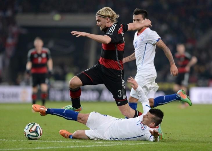 Chile contra Alemania