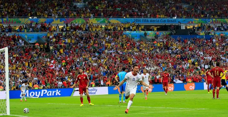 Chile elimina al campeón del Mundo