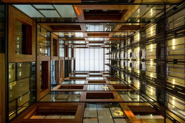Centro de Innovación UC - Anacleto Angelini (2014), Santiago | Crédito James Flori