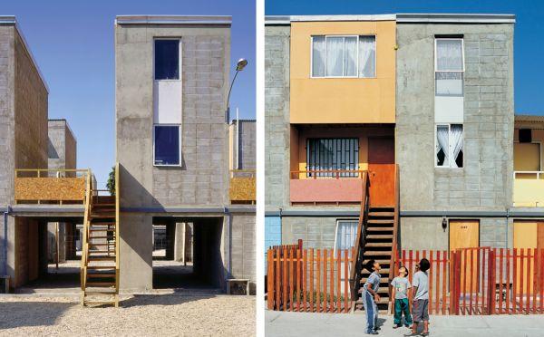 Quinta Monroy (2004) | Iquique | Crédito Cristobal Palma | Estudio Palma