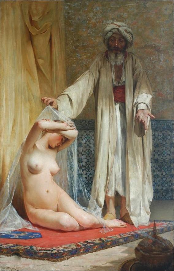 Alfredo Valenzuela Puelma | La perla del mercader 1884