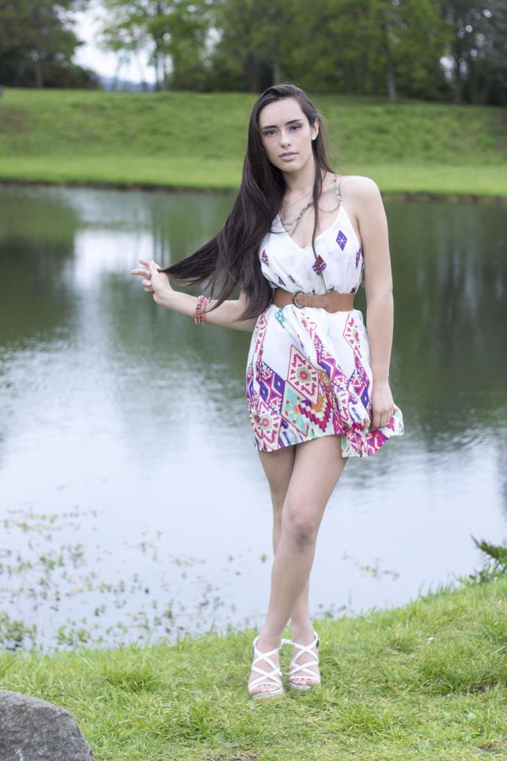 Modelo: Ángela Martínez