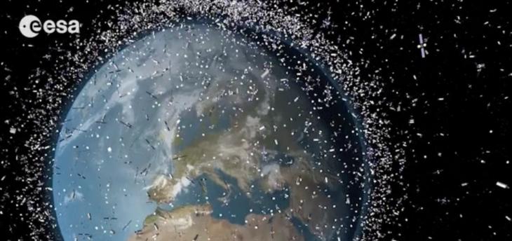 Basura espacial proyectada en 2013 | ESA