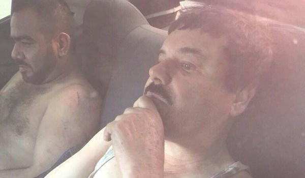 Imagen del Chapo Guzmán difundida por medios mexicanos