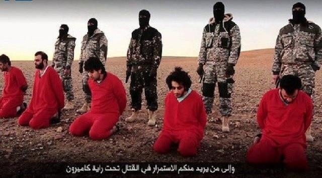 Imágenes difundidas por Estado Islámico