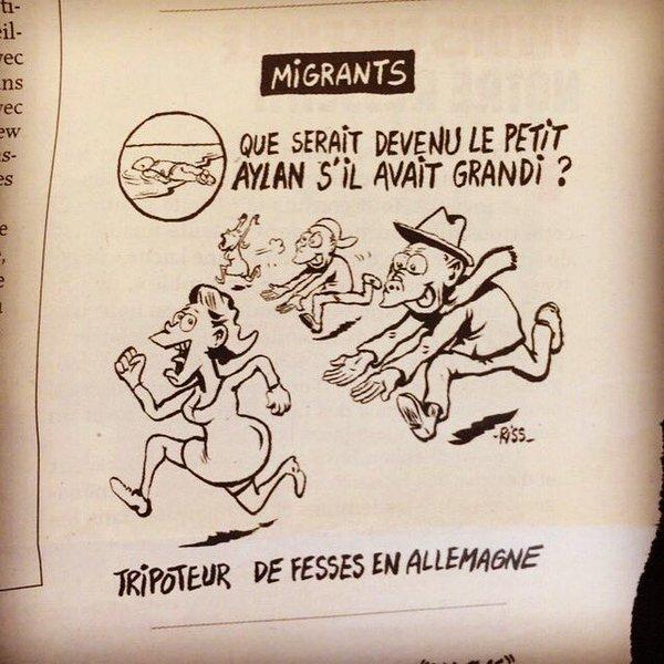 Dibujo de Charlie Hebdo | Dr. Craig Considine | @CraigCons