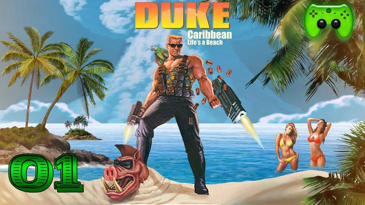 Duke Nukem Life's a Beach