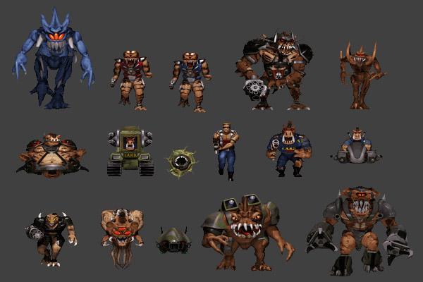Personajes de Duke Nukem