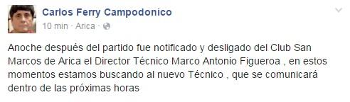 Carlos Ferry | Facebook