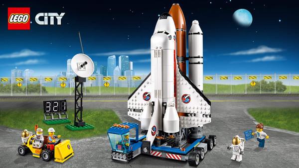 El Puerto Espacial de LEGO ha sido elegido por la Asociación Española de Fabricantes de Juguetes como el Juguete Estrella de 2015 en la categoría de Construcción l LEGO