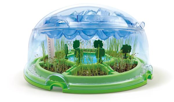 Este pequeño ecosistema explica cómo funciona el ciclo del agua l Clementoni l Dideco