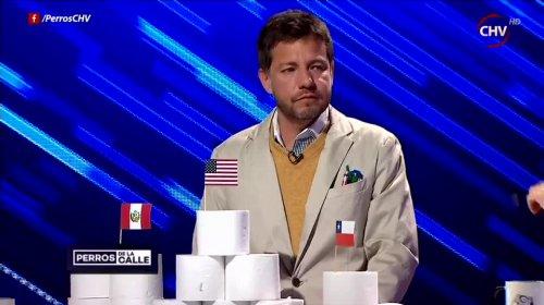 Pablo Zúñiga como Taldo Zúñiga | CHV