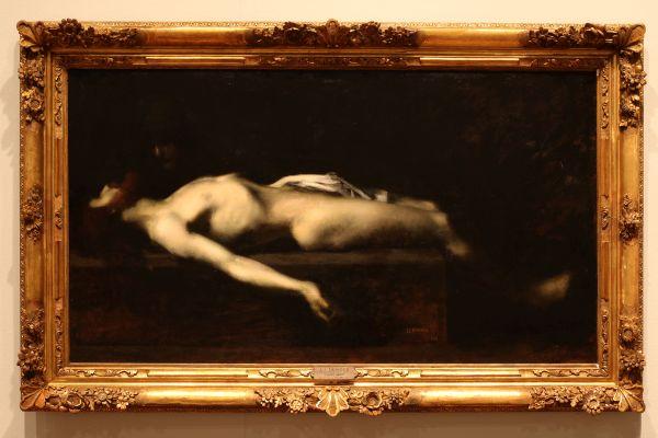 Henner   Cristo Muerto 1879