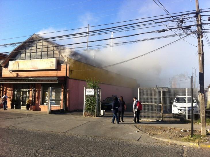 Incendio Panaderia | Pedro Cid (RBB)