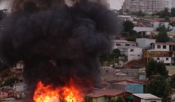 Incendio Cerro Placeres | Miguel Berríos H. | @mberriosh