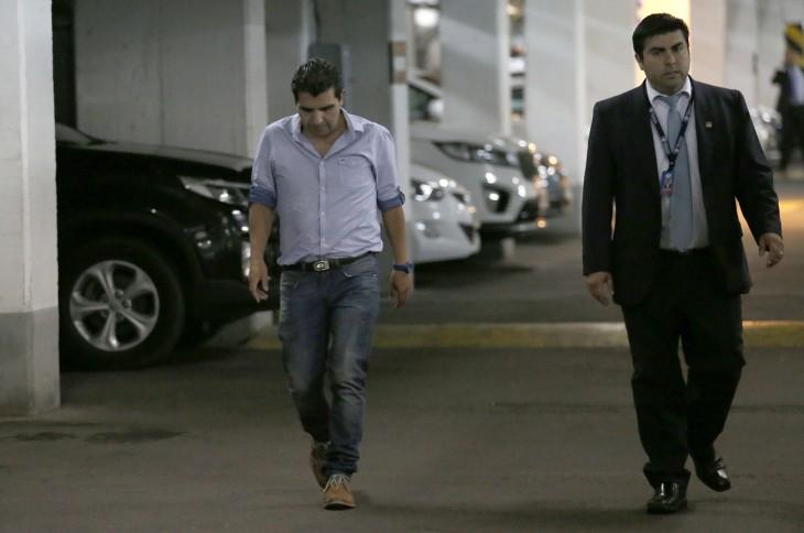 Claudio Barrientos, jefe de gabinete de Carlos Bianchi | Crédito: Rodrigo Garrido