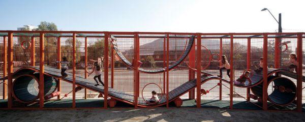 Parque Bicentenario de la Infancia (2012), Santiago | Crédito Cristobal Palma | Estudio Palma