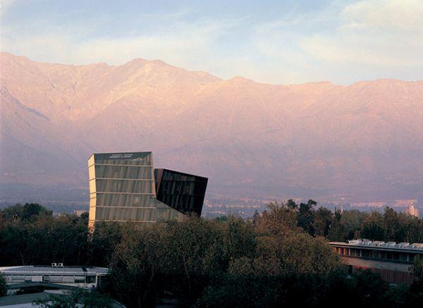 Torres Siamesas, 2005 | Campus San Joaquín Campus, Universidad Católica de Chile | Crédito de Cristobal Palma.