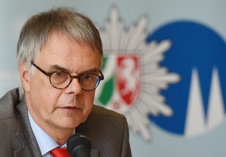 Wolfgang Albers, jefe de la policía alemana | DPA | AFP