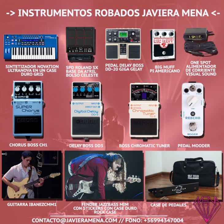Javiera Mena / Facebook