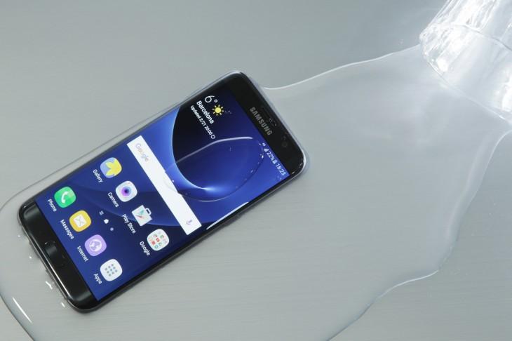 Los nuevos terminales de Samsung son resistentes al agua