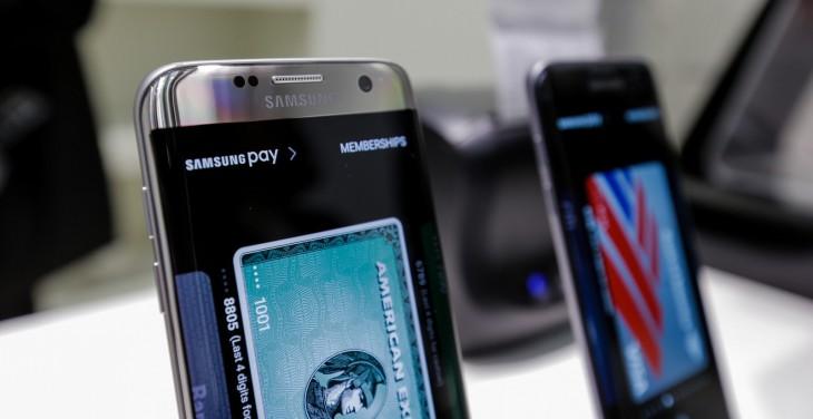 El S7 Edge incluye Samsung Pay, servicio que añadió más países durante la presentación